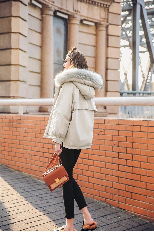 欧美街头风女冬季短款ulzzang棉服ins原宿棉袄chic棉衣外套