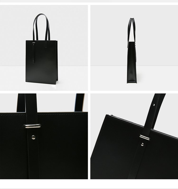 town极简素雅原创女包专场 横版牛皮设计感时尚女包  图案: 纯色 包袋