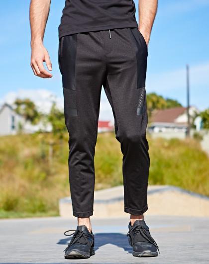七匹狼 夏装 户外时尚松紧休闲运动裤