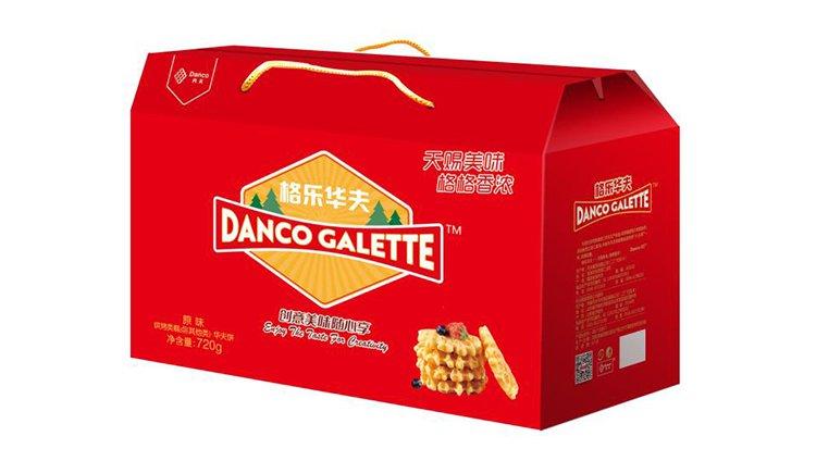格乐华夫原味720g休闲零食大礼包早餐零食网红零食图片
