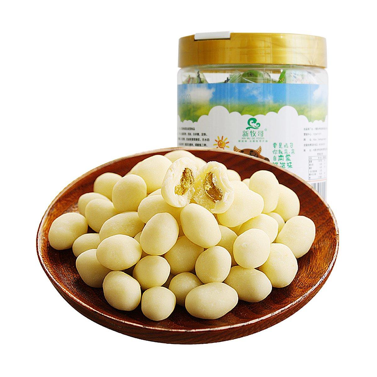 新牧哥内蒙古风味168克桶装手工提子奶豆奶酪零食小吃6940319991597