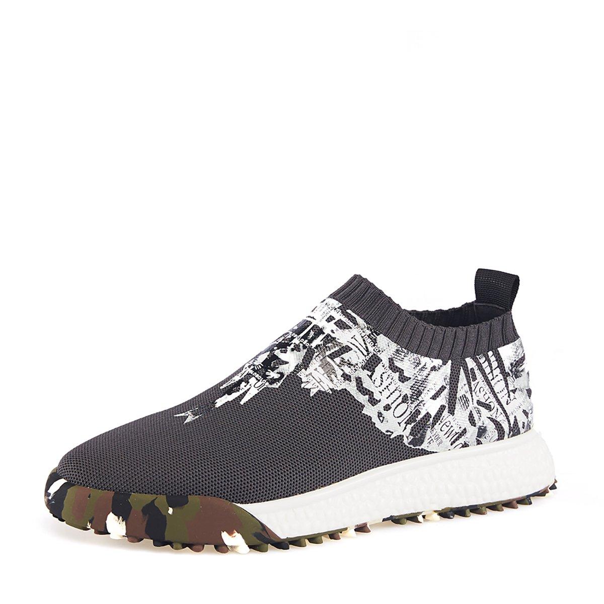 哈森哈森圆头印花迷彩年轻英伦时尚运动休闲鞋ML88635ML88635-027