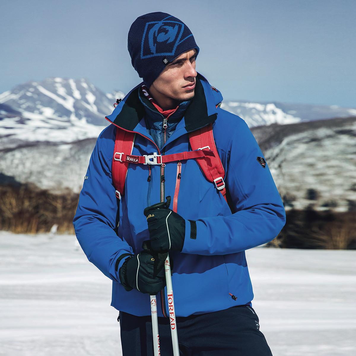 探路者探路者 专柜同款 保暖舒适 男款越野软壳外套KAEG91131-CA5X