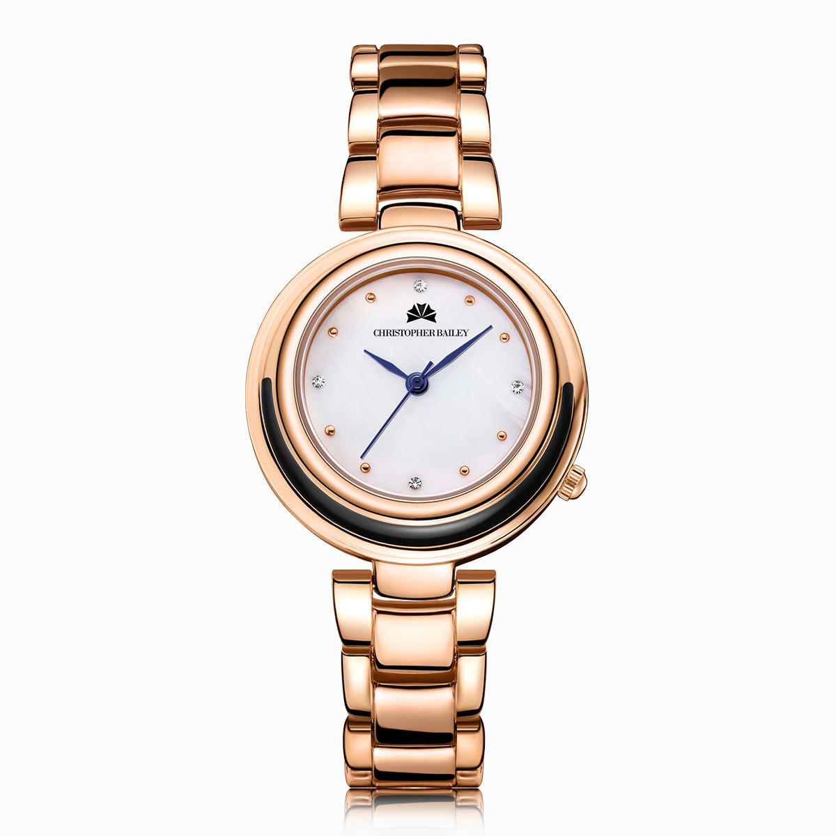 珂芮柏蒂【年底清仓】英国CB 简约星空钢带手表女士学生手表CB25010C