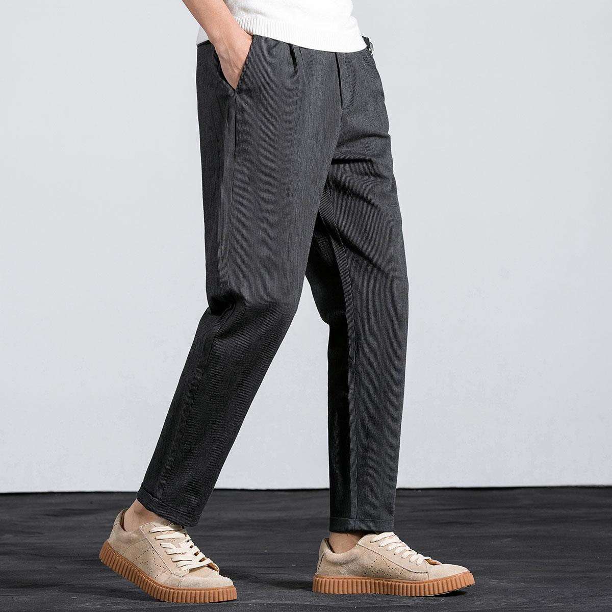 KM KILO KMMETERS2019秋季新款时尚休闲长裤男士休闲裤M1CK200962K8