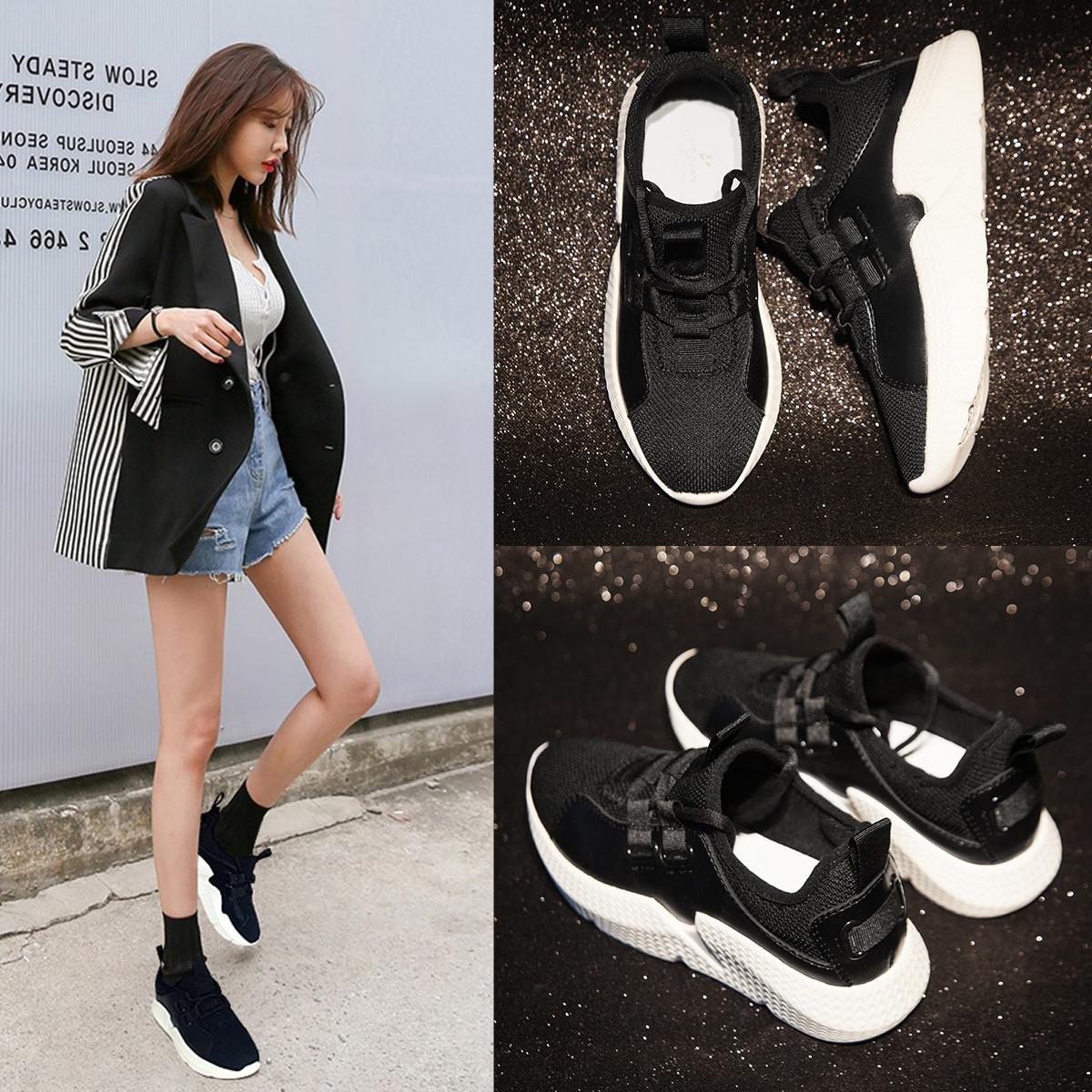 毅雅真皮女士小白鞋2019新款女鞋休闲鞋百搭轻便透气运动鞋跑步鞋WP9WK252903