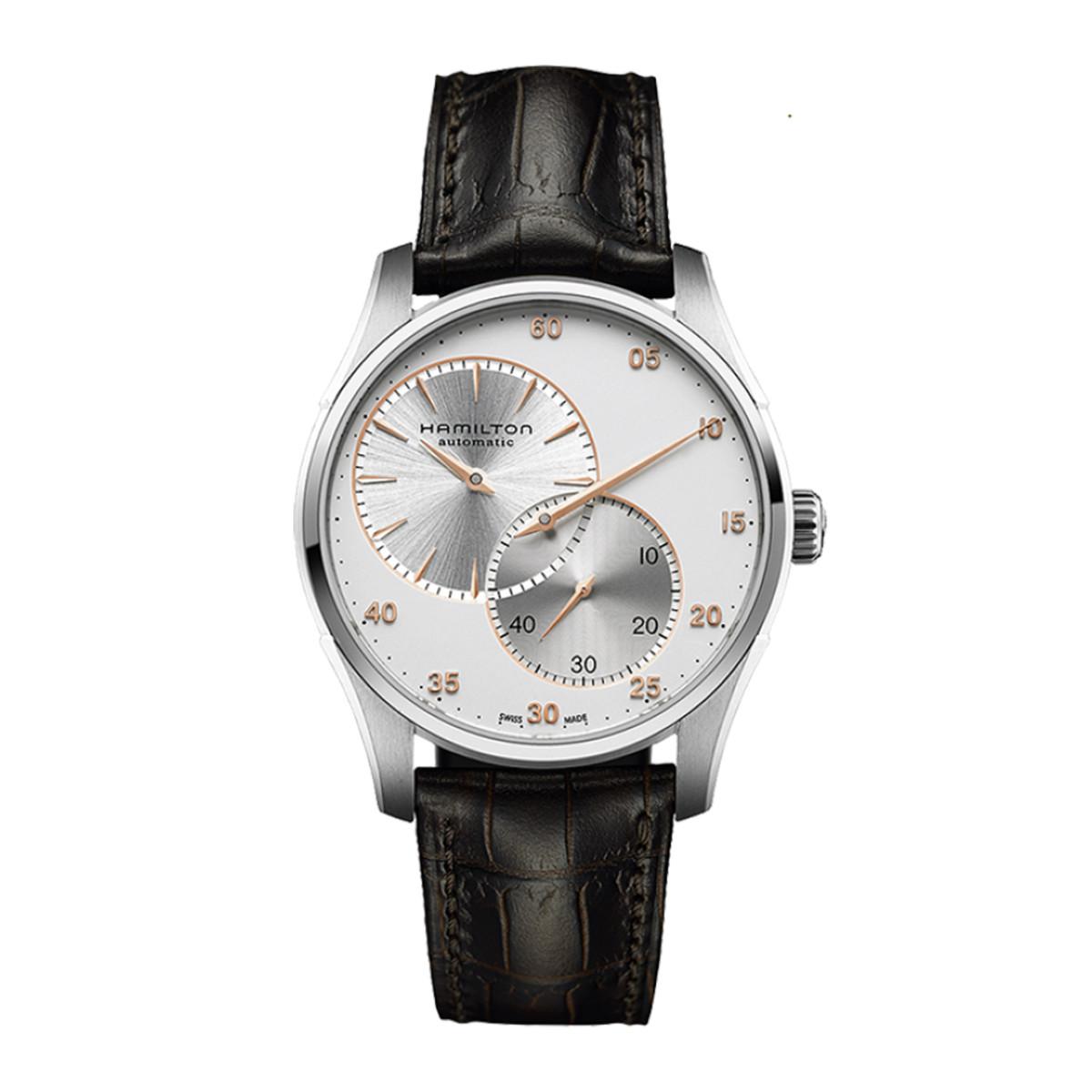 汉米尔顿汉米尔顿爵士系列采用迷人的不对称设计机械男士手表HC-H42615553