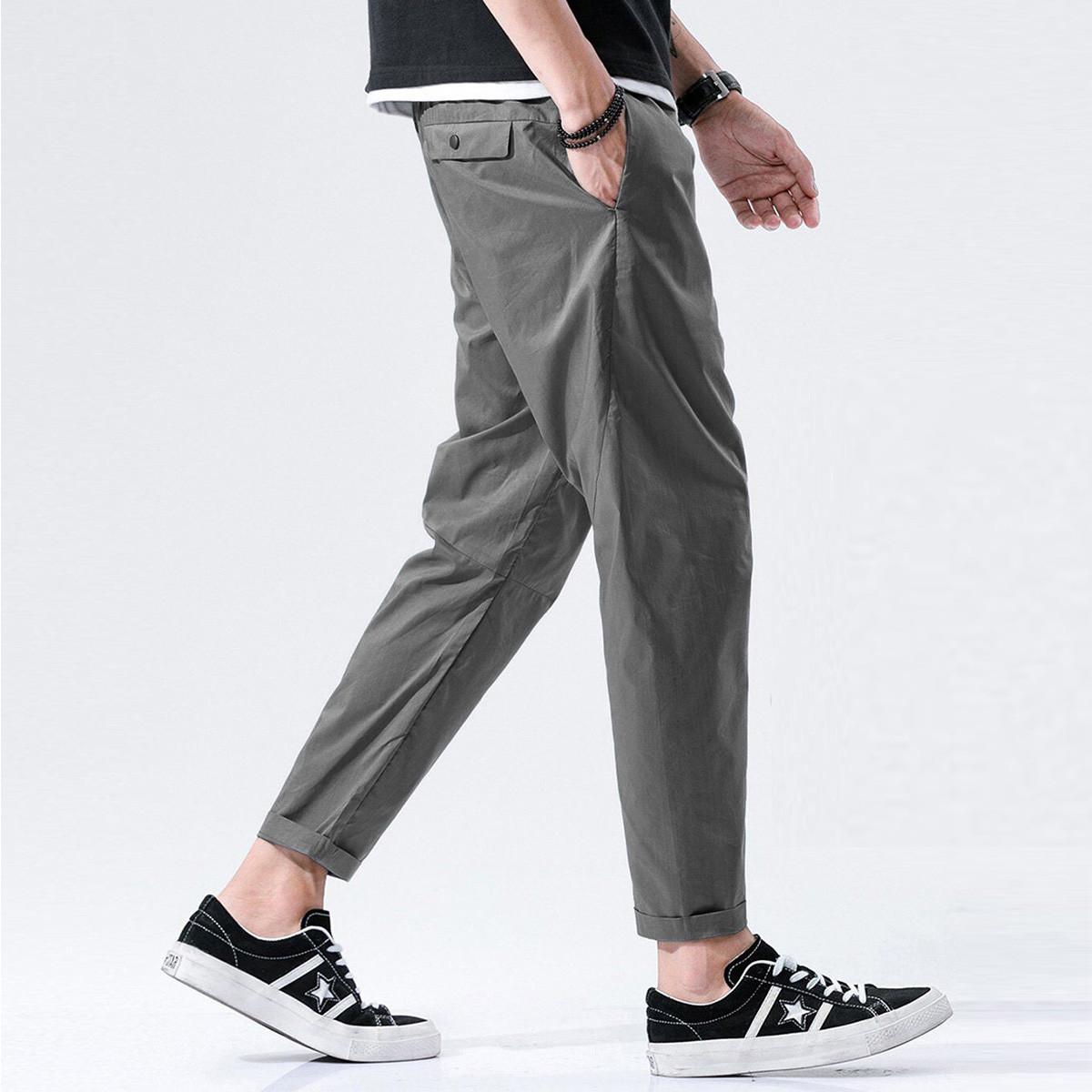 KM KILO KMMETERS2019新品时尚休闲简约薄款男式休闲裤K648J33081116