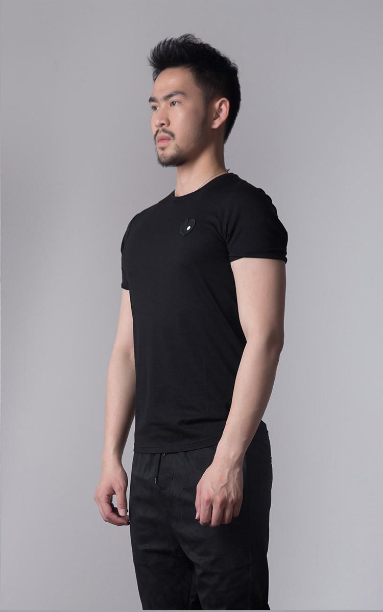 reflex忢男装原创设计师品牌专场后背印花短袖t恤