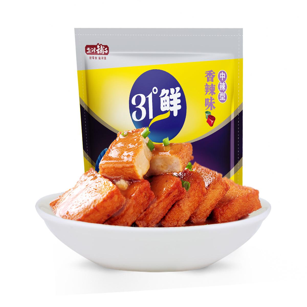盐津铺子盐津铺子鱼豆腐香辣味600g零食豆腐干即食小吃零食大礼包6926104937810