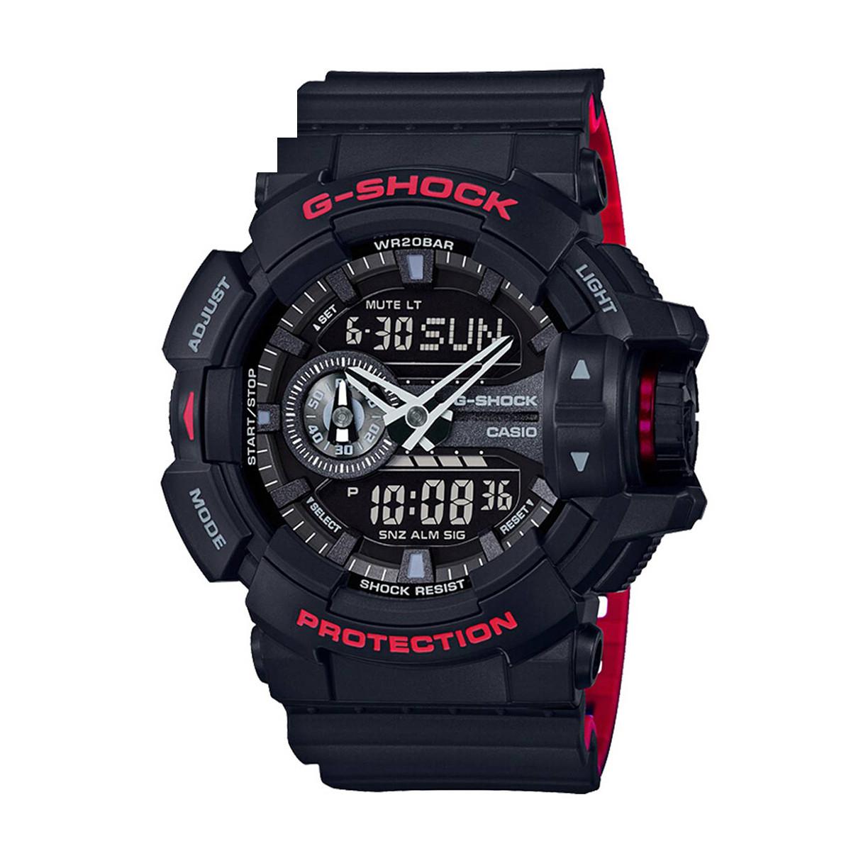 卡西欧【正品授权】卡西欧手表G-SHOCK系列多功能运动男士手表GA-400HR-1APR