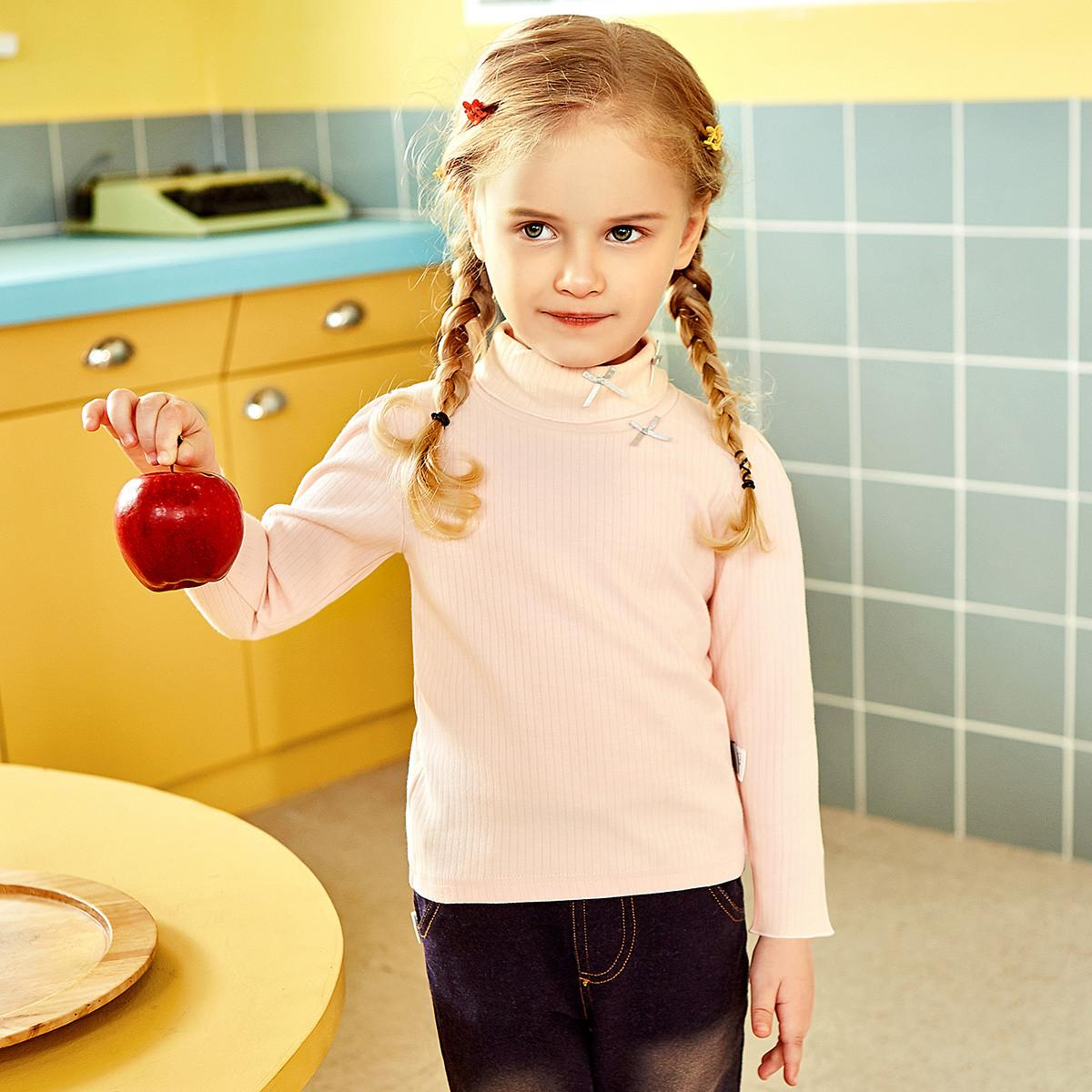猫人猫人秋季新款女童长袖t恤女宝宝打底衫女童打底衫MR1802418