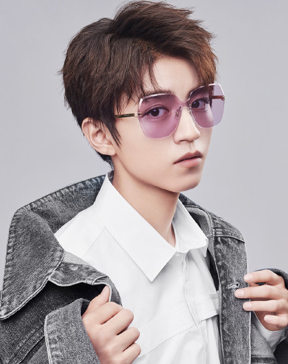 新款王俊凯同款方形太阳镜男女时尚潮流极简墨镜bl7050图片