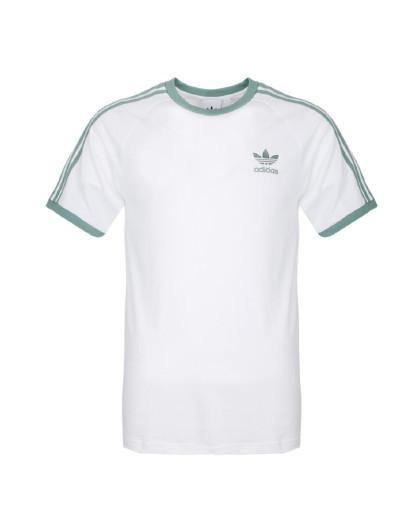 三叶草 经典三叶草刺绣logo 男款针织运动t恤图片
