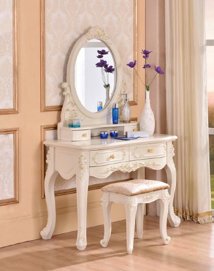 欧式梳妆台主卧室梳妆台小户型化妆柜 梳妆桌组合
