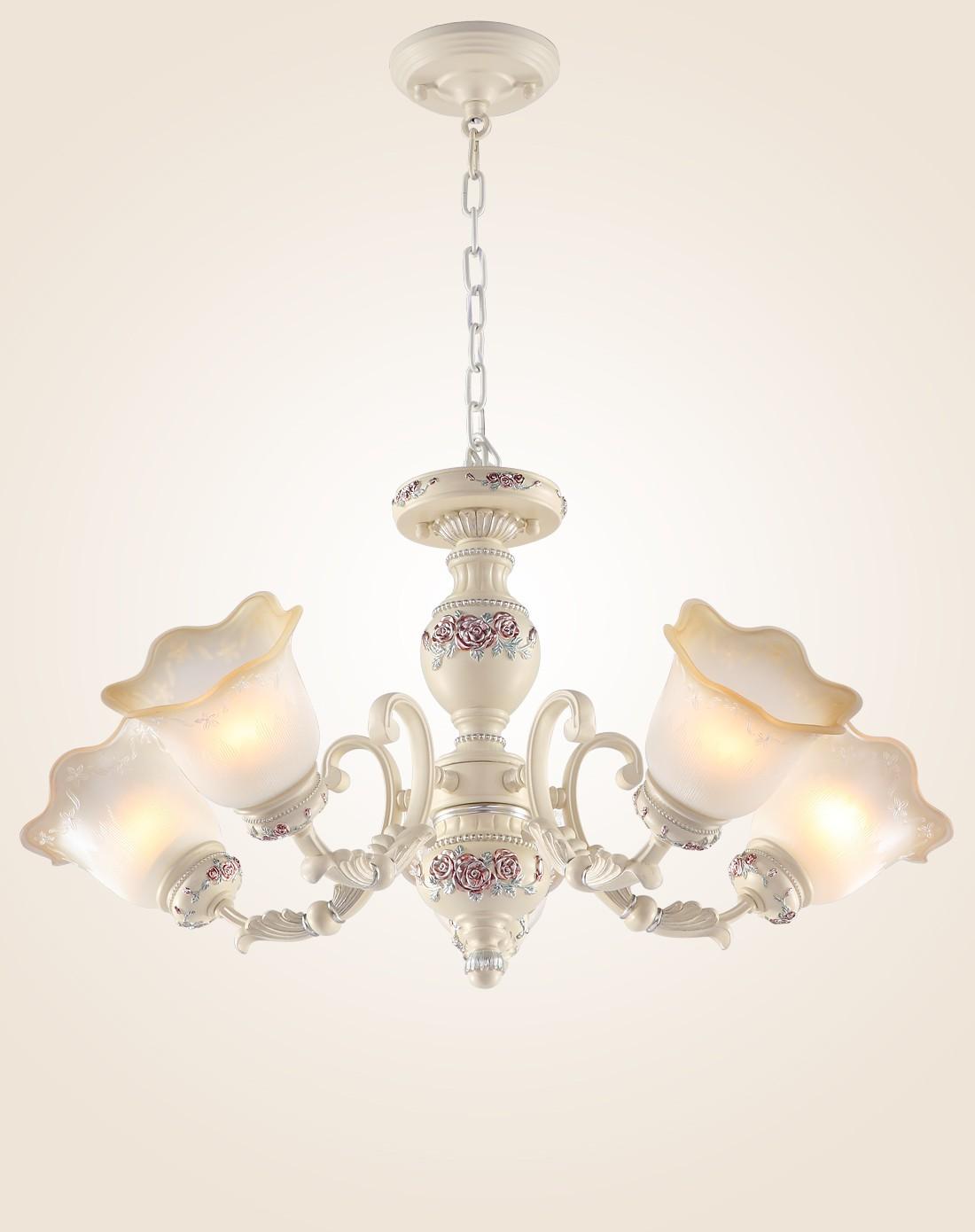 欧式矮户型卧室灯纯手工雕刻灯饰