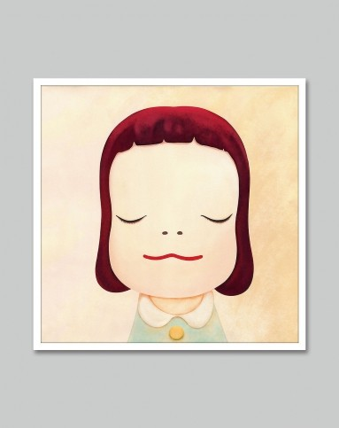 现代简约装饰画 梦游娃娃