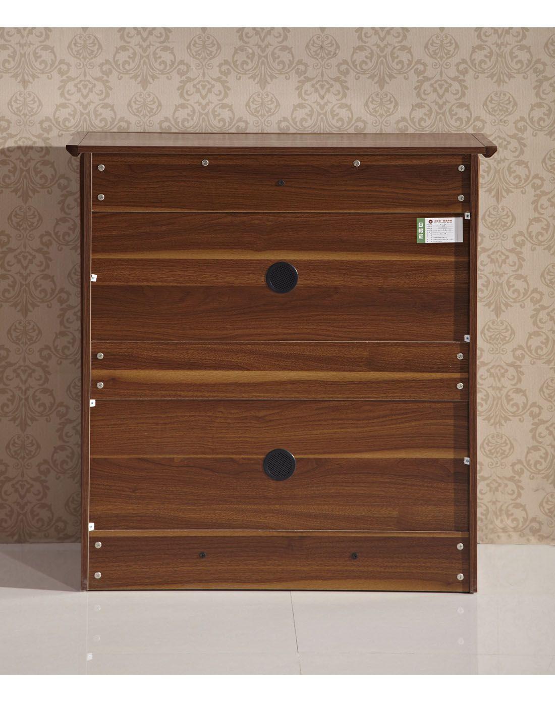 homes家具中式木纹双门鞋柜x419