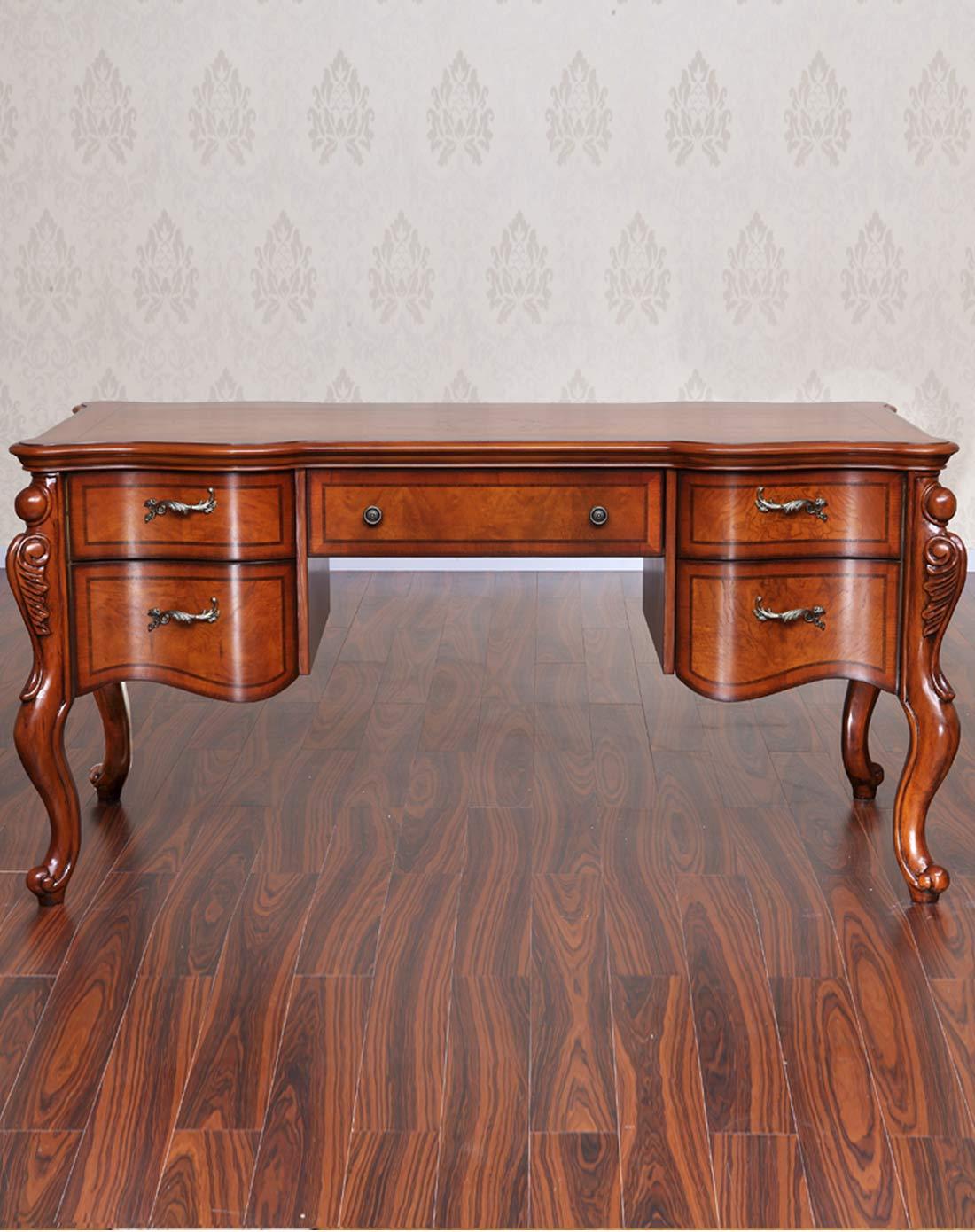 雅居格家具专场美式实木书桌