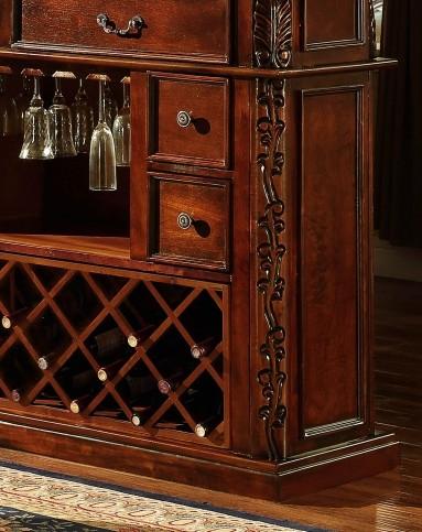 美式实木吧台桌椅 欧式吧台酒柜台隔断