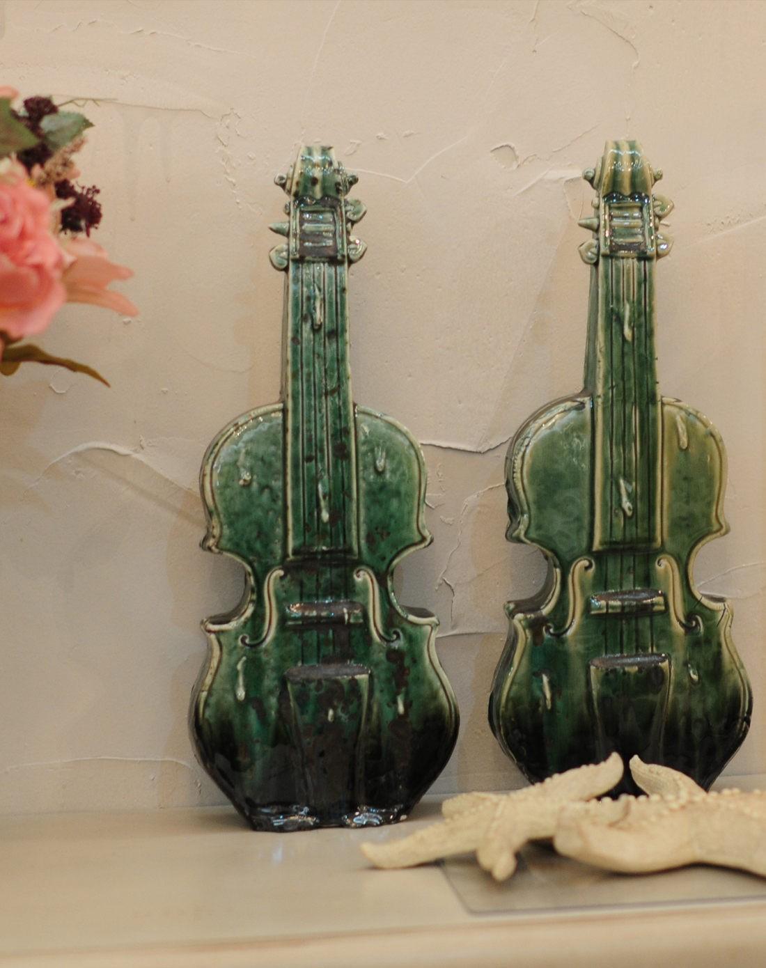 欧式现代都市陶瓷小提琴