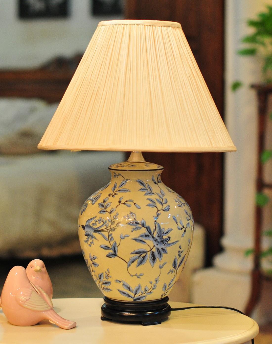 欧式高档陶瓷时尚装饰台灯具