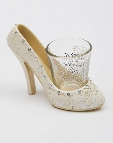 美式创意树脂手绘高跟鞋酒架 烈酒杯礼盒