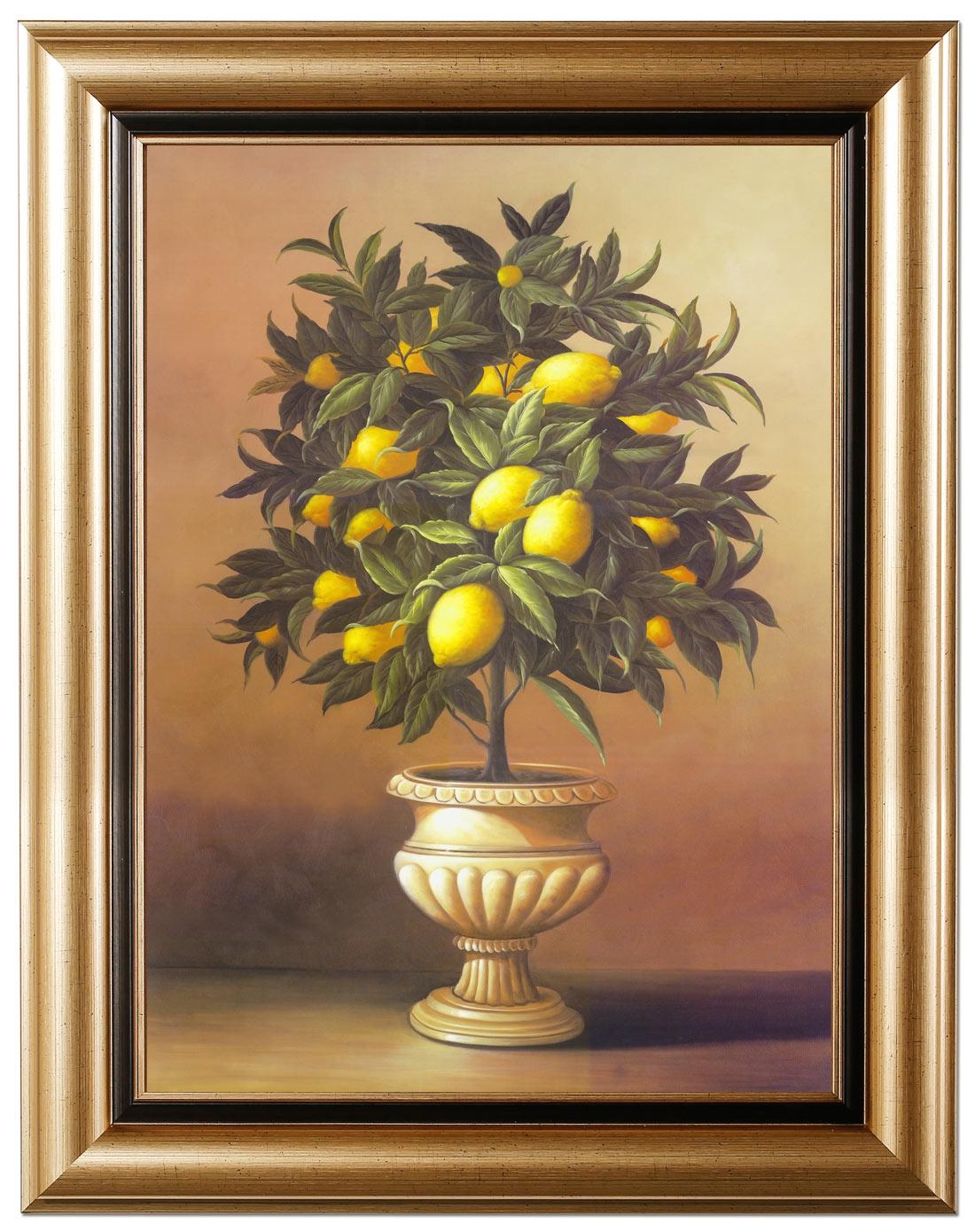 柠檬树lemon tree装饰画专场奢华装饰画两联组合
