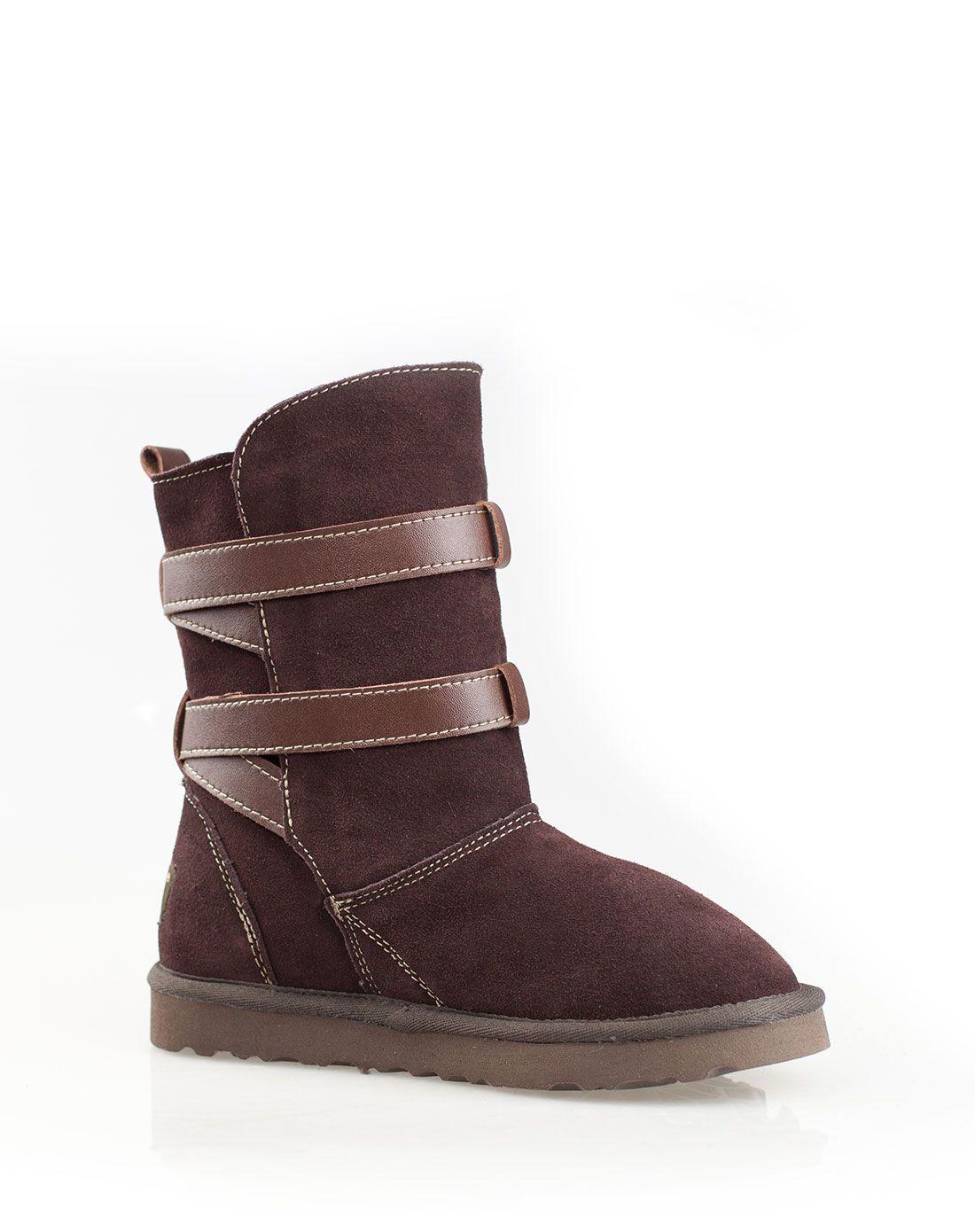 雪地靴哪个牌子最好_巧克力雪地靴
