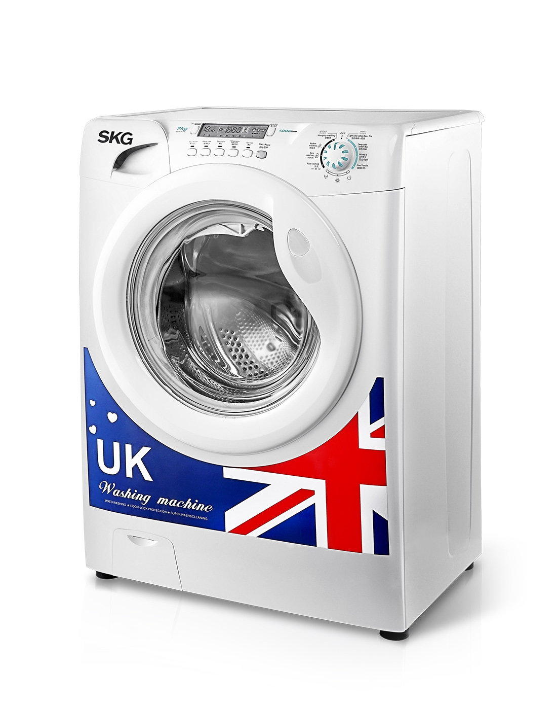 skg电器7公斤全自动滚筒洗衣机