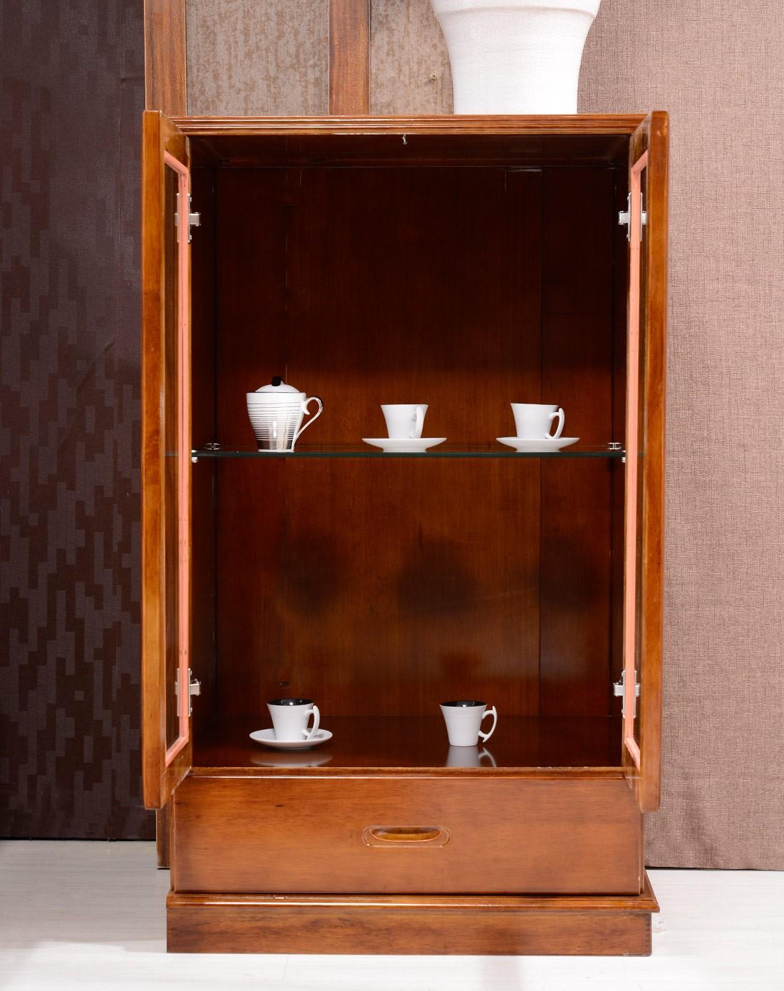 全实木中式酒柜现代客厅组合边柜低酒柜