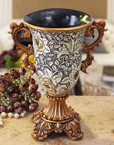 朵兰舍doolans欧式复古浮雕花瓶xy-d1