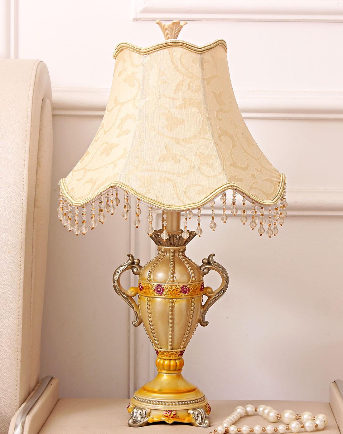 欧式复古装饰台灯图片