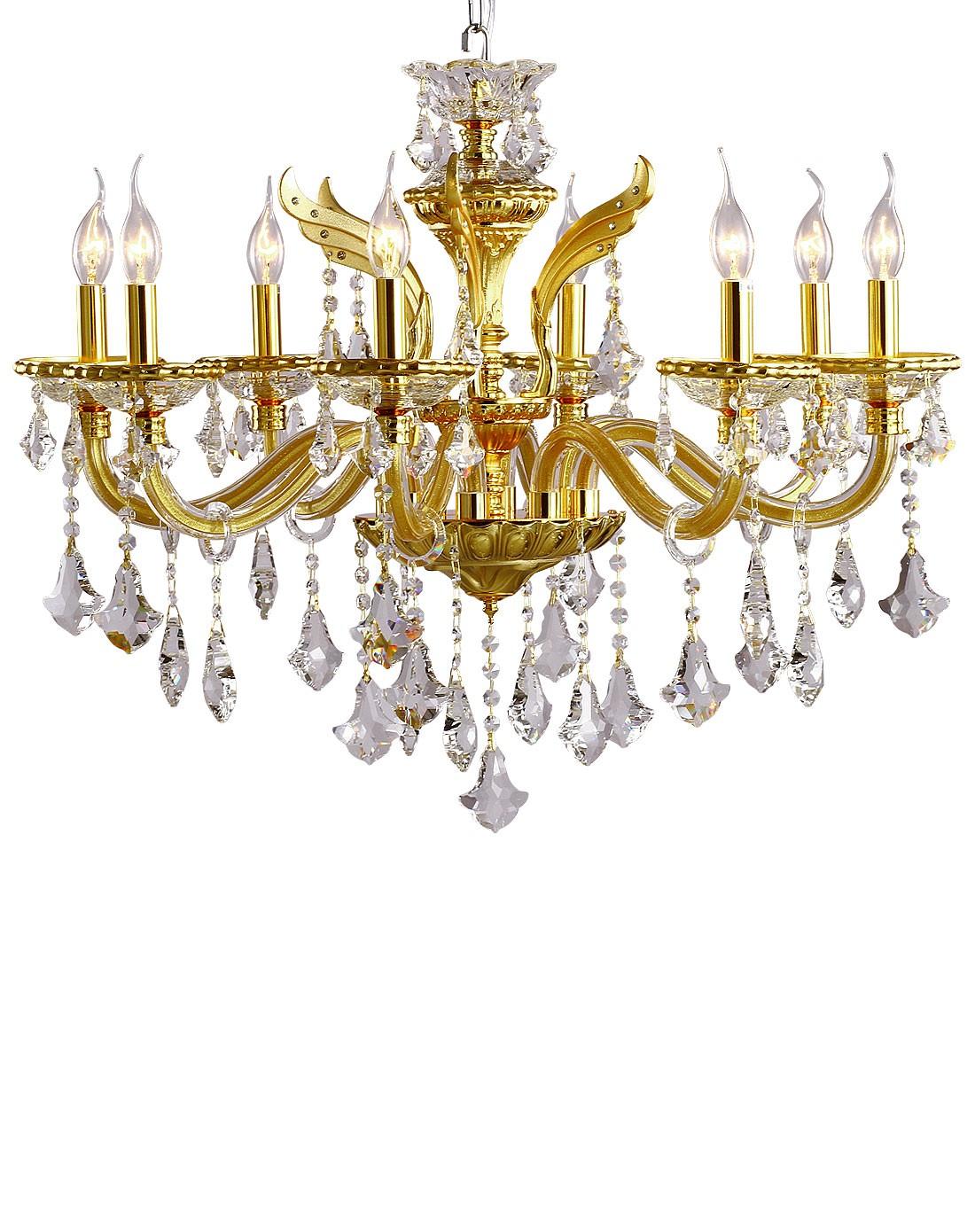 8头客厅宫廷复古欧式水晶吊灯