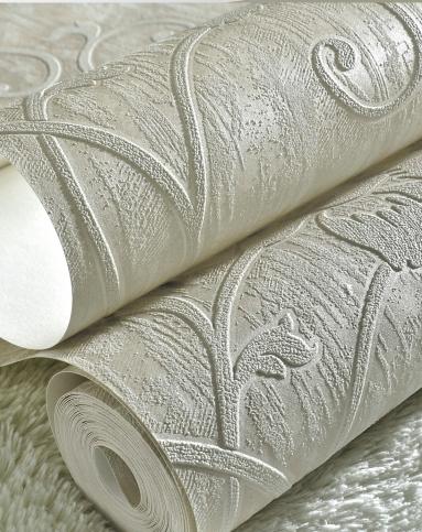 纸尚美学墙纸专场欧式简约风格立体浮雕3d壁纸3d2201