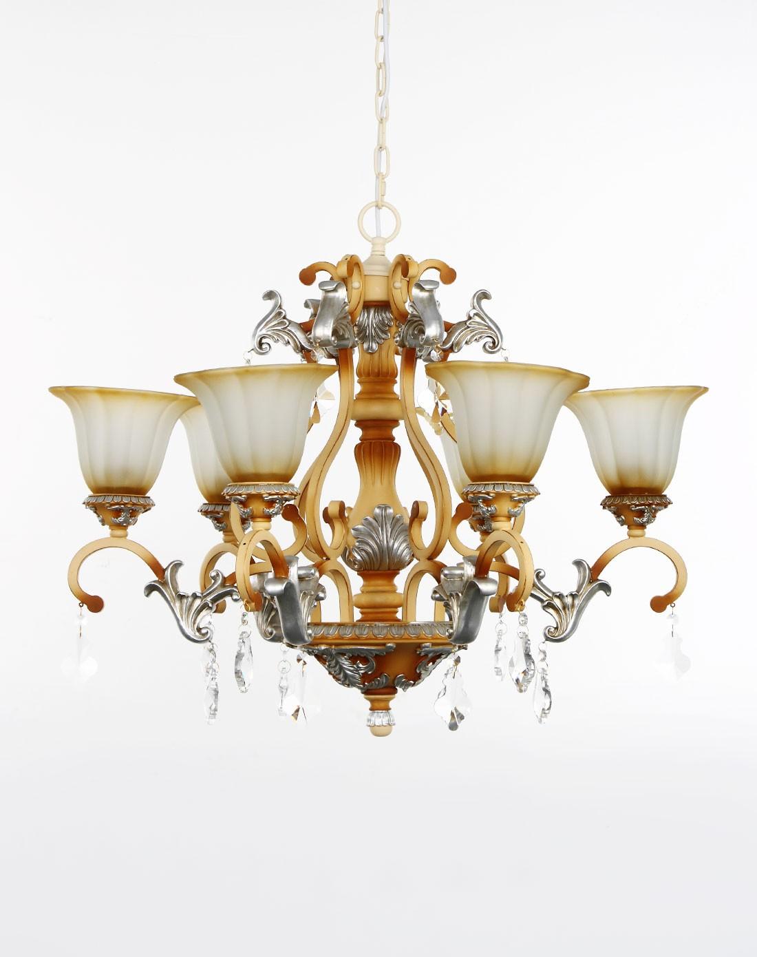 欧式复古水晶吊灯客厅灯卧室灯餐厅灯