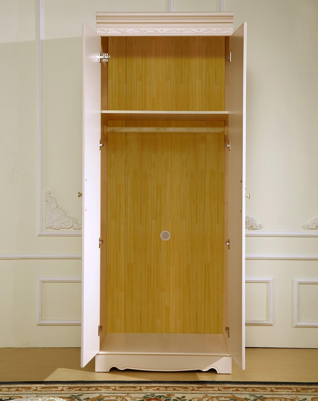 巨宝家具专场欧式风格实木橡木二门衣柜os-d902m2