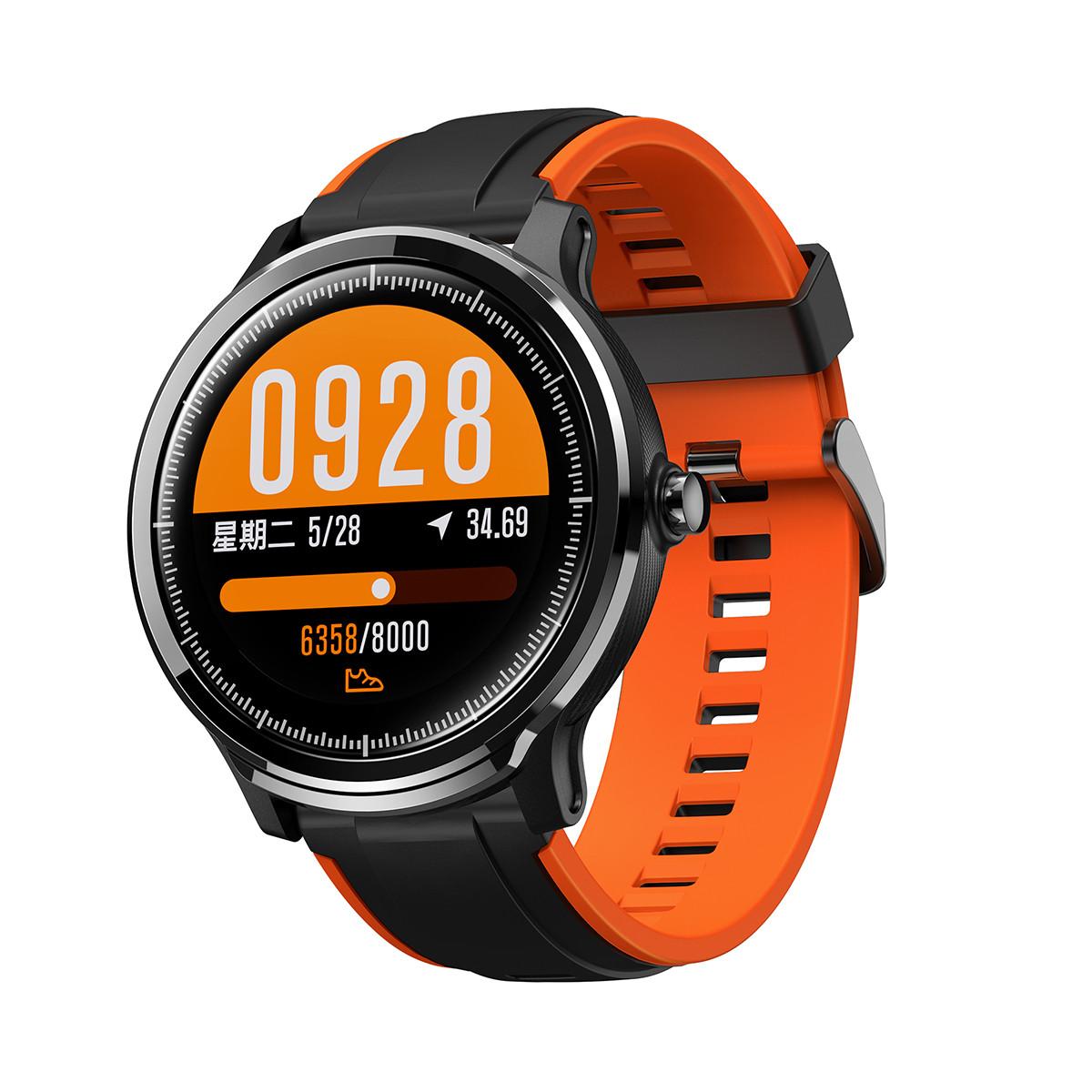 碳纤维大表盘全触屏监测心率血压蓝牙智能手表运动手环