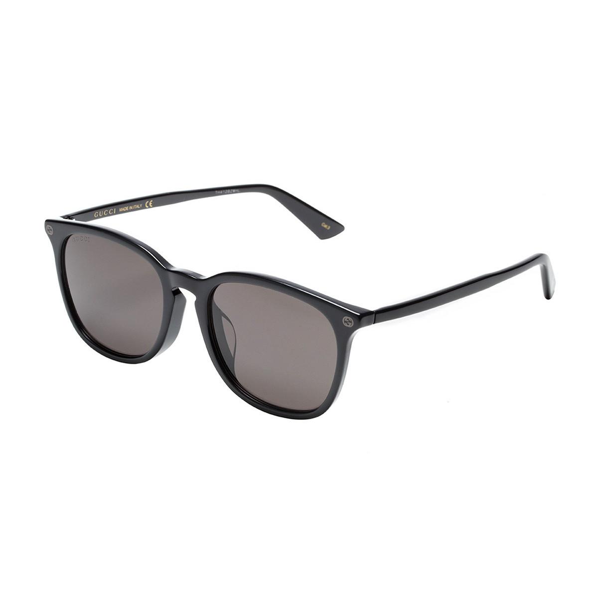 GUCCI古驰明星同款基础系列双Glogo男女款太阳镜 墨镜