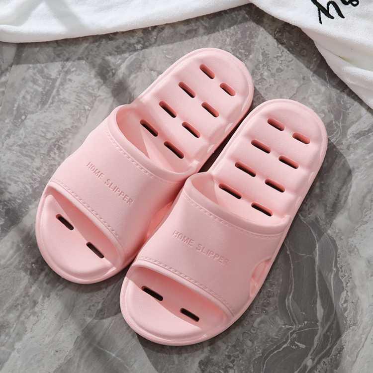 【漏水拖鞋】四季防滑按摩漏水浴室男女室内洗澡居家情侣