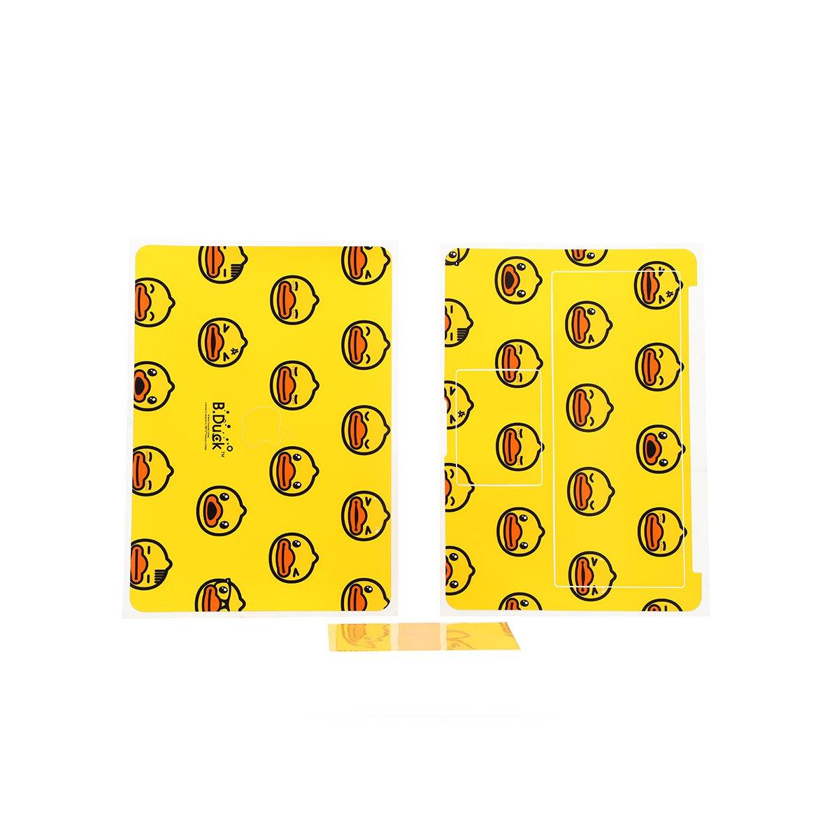 小黄鸭数码配件苹果笔记本电脑pro13.3寸贴纸MAC贴膜