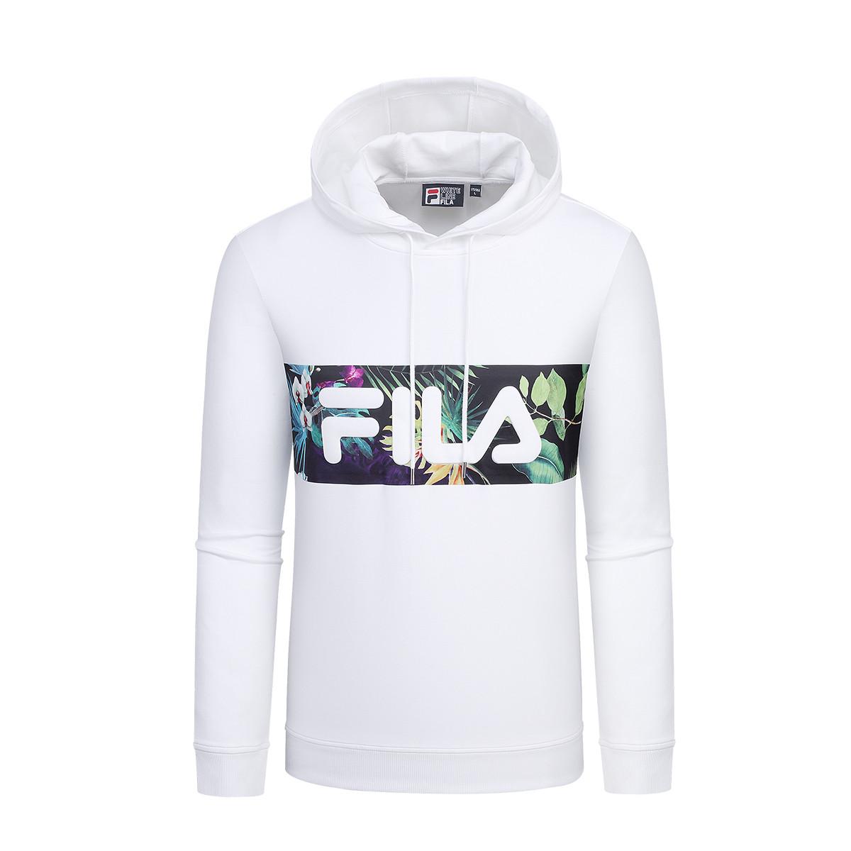 FILA 斐乐 F61M918515FWT 男士卫衣