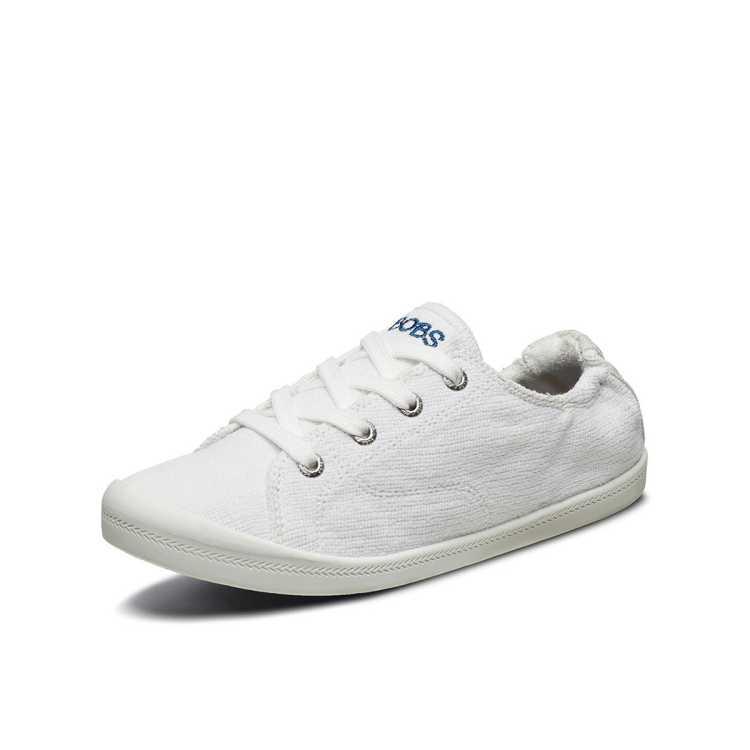 【轻潮爆款】潮流刺绣女休闲鞋帆布鞋 简约时尚小白鞋女鞋子
