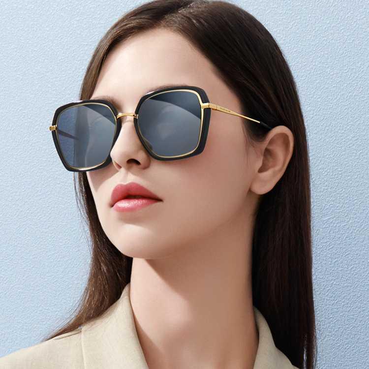 海伦凯勒眼镜女款气质优雅偏光墨镜女士太阳镜H98621