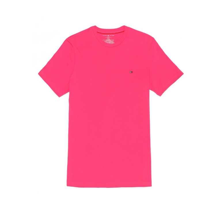 TOMMY HILFIGER休闲短袖圆领男式T恤