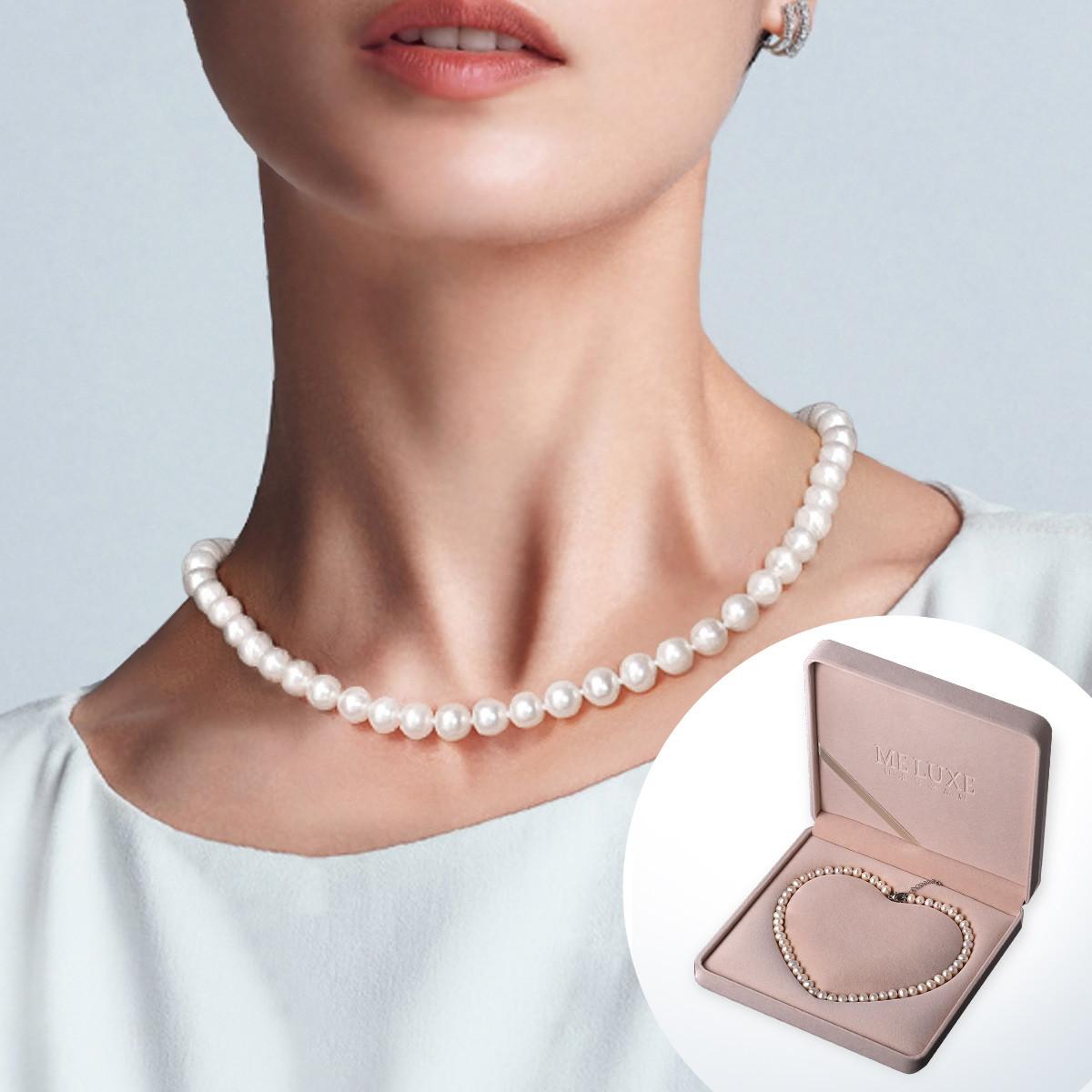【品质好才是硬实力】7-11mm时尚百搭天然淡水真珍珠项链