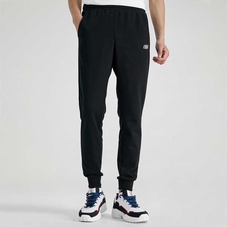 2021春夏新款男装男子舒适运动裤男系带休闲长裤