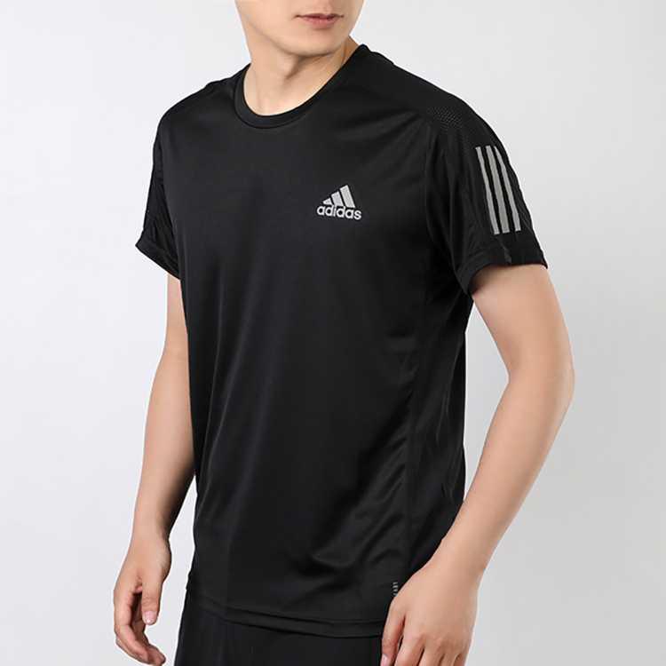 情侣t恤2021夏季时尚新款运动服 速干跑步短袖