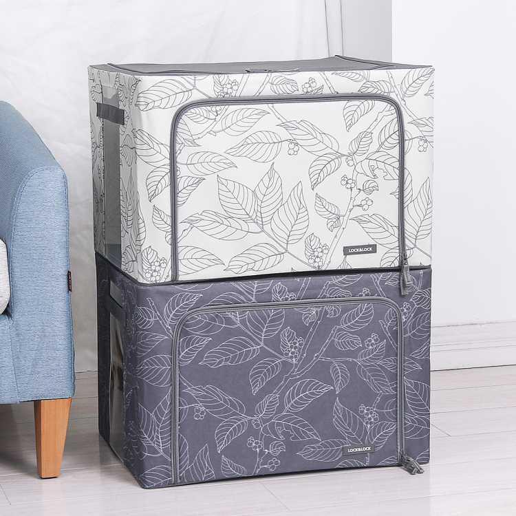北欧风情收纳盒衣服大容量衣物整理储物箱换季收纳箱