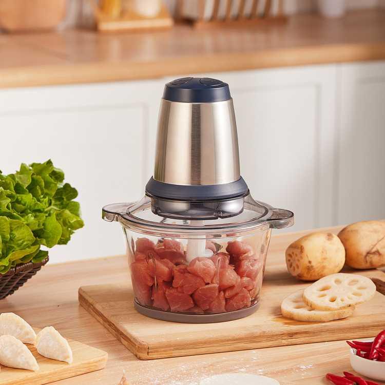 2L立体4叶刀家用多功能料理辅食绞肉机